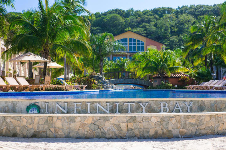Infinity Bay Sign