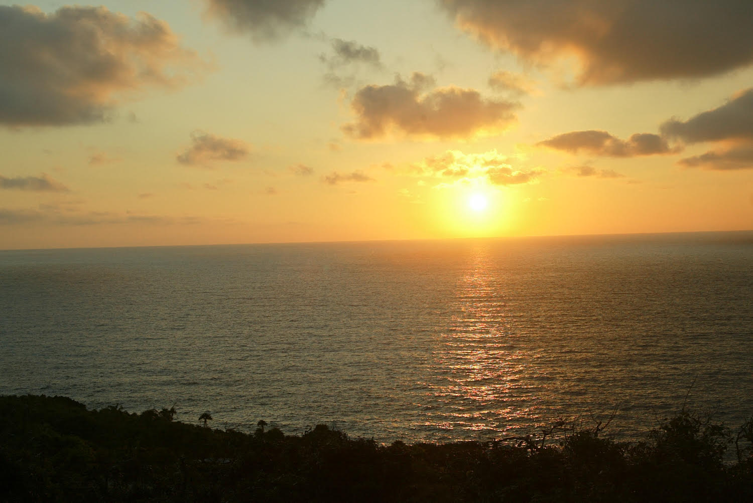 Roatan Sunrise Lighthouse Estates View