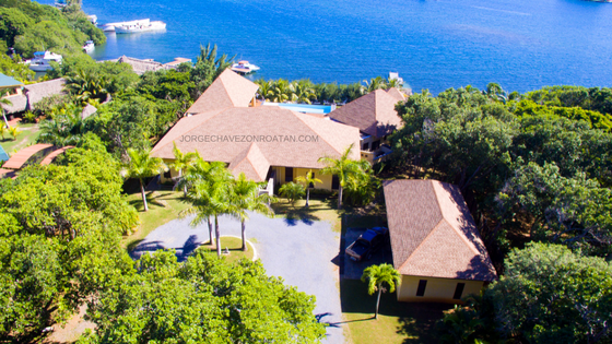 Estate home Roatan