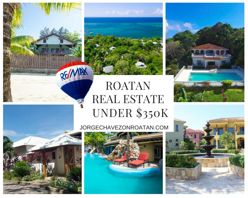 Roatan Real Estate Under $350k
