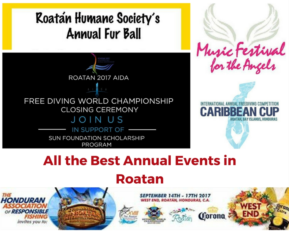 Annual Events in Roatan